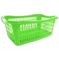 Handy Basket Green 36cm x 24cm x 15cm
