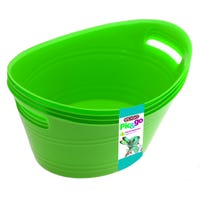 Edgo Pick and Go Baskets Green 4 Pack