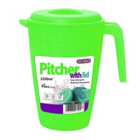 Edgo Green Pitcher With Lid 2200ml