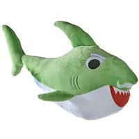 Groovy Shark Soft Toy Green 35cm