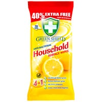 Green Shield Antibacterial Wipes 70 Pack