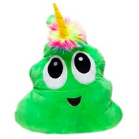 Plush Poonicorn Green 16 Inch