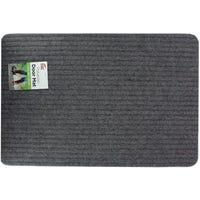 Polyester Doormat Grey 60x40cm