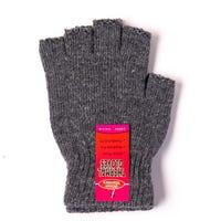 Ladies Thermal Fingerless Gloves Grey