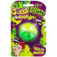 Gross Ball of Bogeys Slime Assorted
