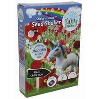 Fairy Garden Unicorn Shakers Red Garden