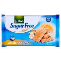 Gullón Sugar Free Vanilla Flavour Wafer 210g