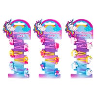 Children's Unicorn Hair Clips Accessories in Assorted Designs