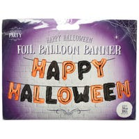 Happy Halloween Foil Balloons