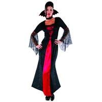 Halloween Adult Costume Countess Vampiretta Size 10-12