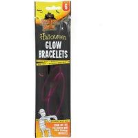 Halloween Glow Bracelet Set Assorted 6 Pack