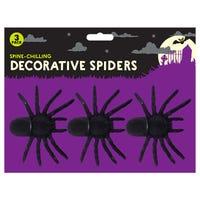 Halloween Spooky Spiders 3 Pack