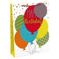 Birthday Balloons XL Gift Bag