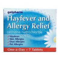 Hayfever & Allergy Relief 7 Tablets