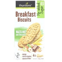 Thurstons Breakfast Biscuit Hazelnut and Chocolate 200g