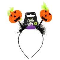 Halloween Head Boppers Pumpkin