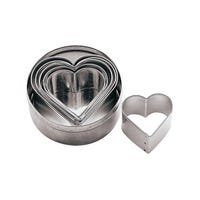 6 Piece Stainless Steel Pastry Cutter