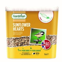 Gardman Sunflower Hearts Bird Feed 3kg