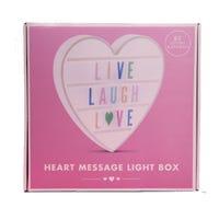 Heart Shaped Message Board 34cm x 34cm