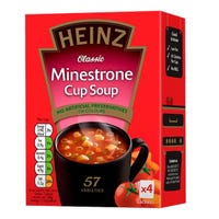 Heinz Cup A Soup Minestrone 4 Pack