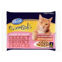 HiLife Cat Favourite Chunks in Gravy 4 Pack