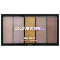 Colour Spell Highlight 5 Shade Palette