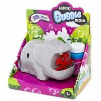 Novelty Bubble Machine Hippo