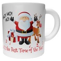 Christmas Mug Ho Ho Ho Santa