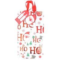 Ho Ho Ho Double Bottle Bag