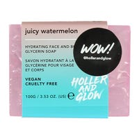 Holler and Glow Juicy Watermelon Face and Body Soap 100g