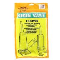 One Way Hoover Vacuum Cleaner Bags 3 Pack