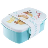 Plastic Lunch Box Hot Dog Design