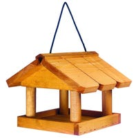 Gardman Mini Wooden Hanging Bird Table