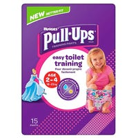 Huggies Pull Ups Training Pants for Girls 15 Pack