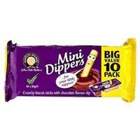 Huntley and Palmers Chocolate Mini Dippers 10 Pack