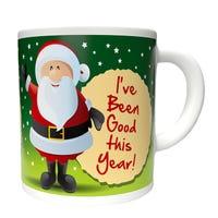 Christmas Mug I've Been Good This Year Design