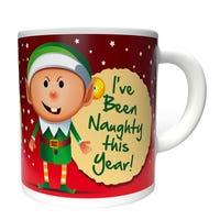 Christmas Mug I've Been Naughty This Year Design