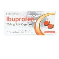 Bells Ibuprofen Soft Capsules 10 Pack