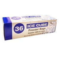 Ice Cube Bags 1008 Cubes 36 Pack