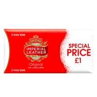 Imperial Leather Soap in Original 3 Pack