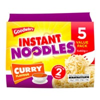 Goodwins Instant Noodles Curry 5 Pack