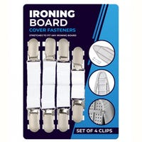 Iron Board Clips 4 Pack