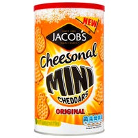 Jacobs Original Christmas Mini Cheddars 260g