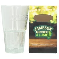 Jameson Ginger and Lime Glass