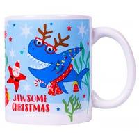 Jawsome Christmas Novelty Mug