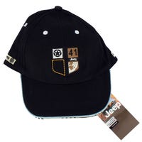Jeep Embroidered Shield 41 Children's Cap in Black 3-8 Years