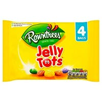 Rowntrees Jelly Tots 4 Pack