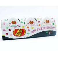 Jelly Belly Mini Gel Air Freshener Cocktail Assorted 3 Pack