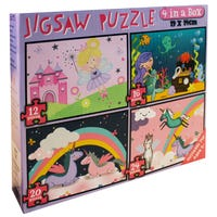 4 in 1 Girls Jigsaw Puzzle