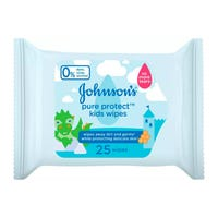 Johnson's Pure Protect Germ Wipes 25 Pack